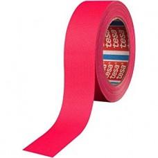 tesa 4671-25mx19mm Bandă textilă laminata cu pasta acrilica. Culoare roz