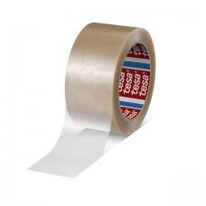 tesa 4124-66mx50mm Bandă premium de sigilare a cutiilor de carton Transparent