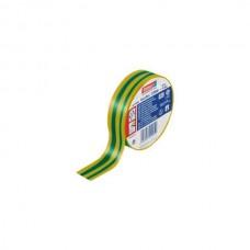 tesa 53988-20mx19mm Banda din PVC pentru izolatii electrice. Culoare GALBEN/VERDE