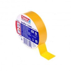 tesa 53988-20mx19mm Banda din PVC pentru izolatii electrice. Culoare GALBEN